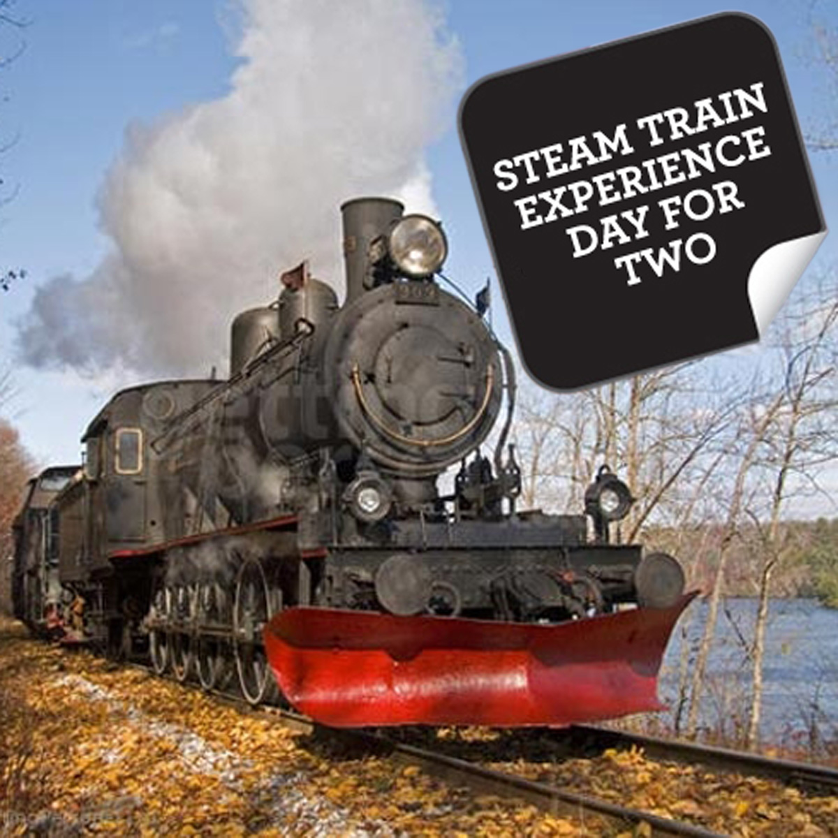 Steam Train Experience Day For Two