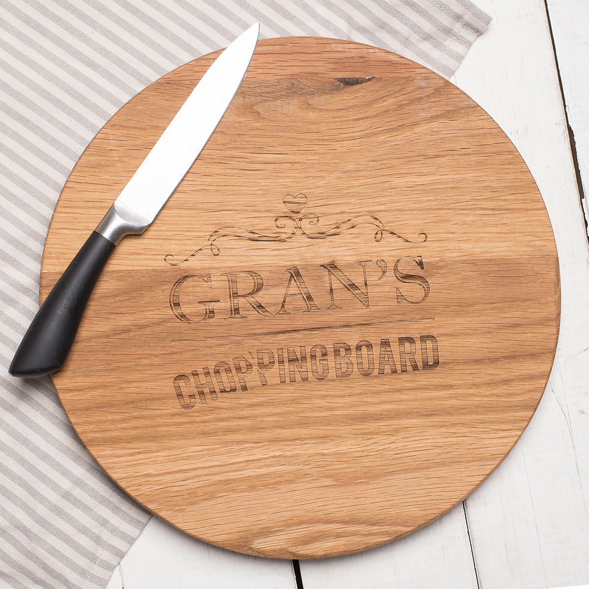 how to make a chopping board from oak