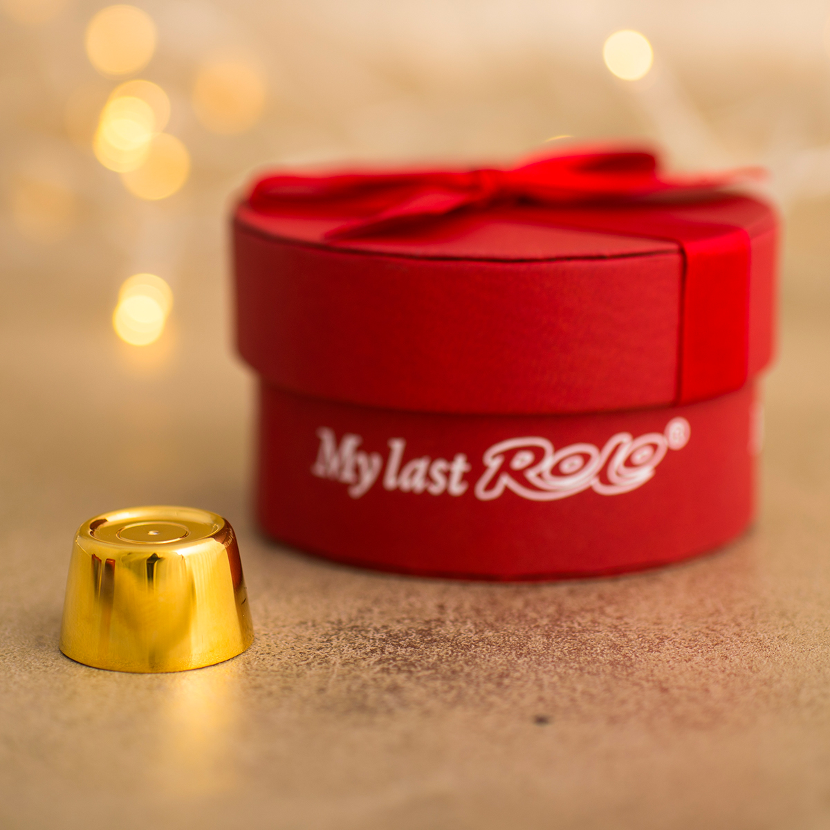 Personalised My Last Rolo  Gold