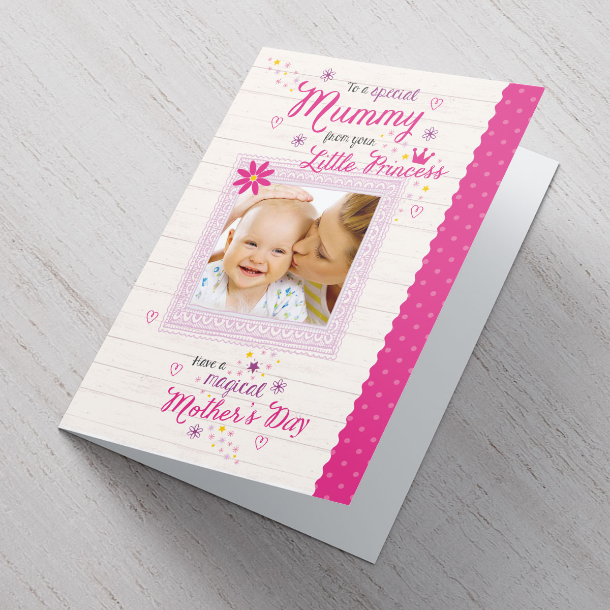 Photo Upload Mother\'s Day Card - Little Princess