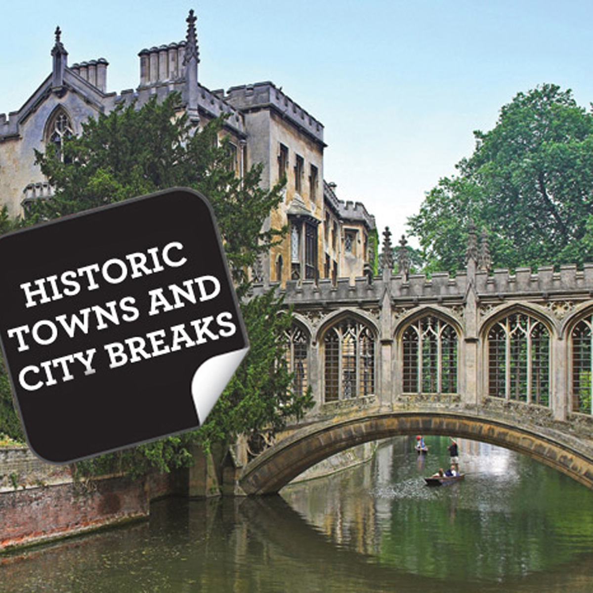 Historic Towns & Cities Breaks For Two