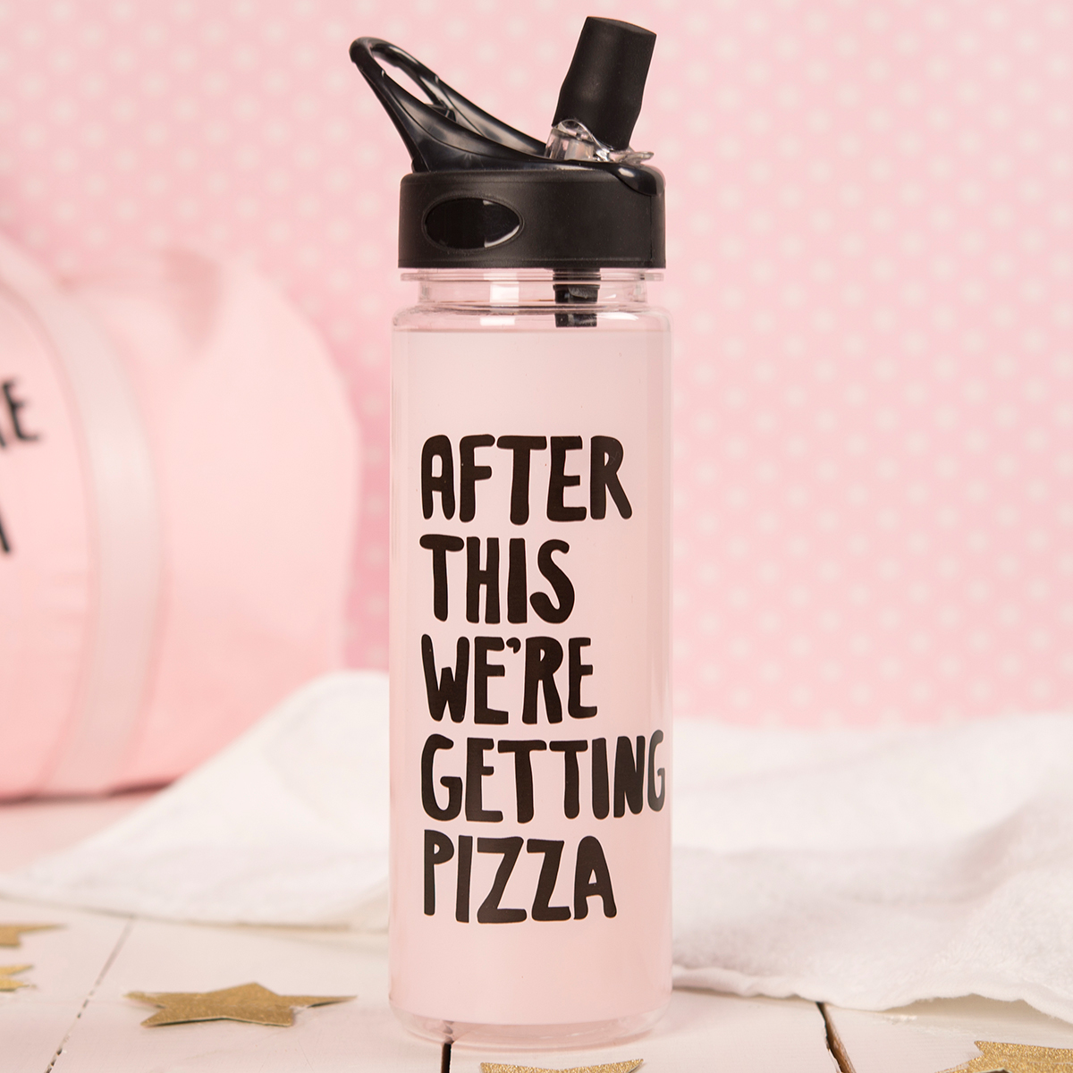 Image of After This We're Getting Pizza Water Bottle