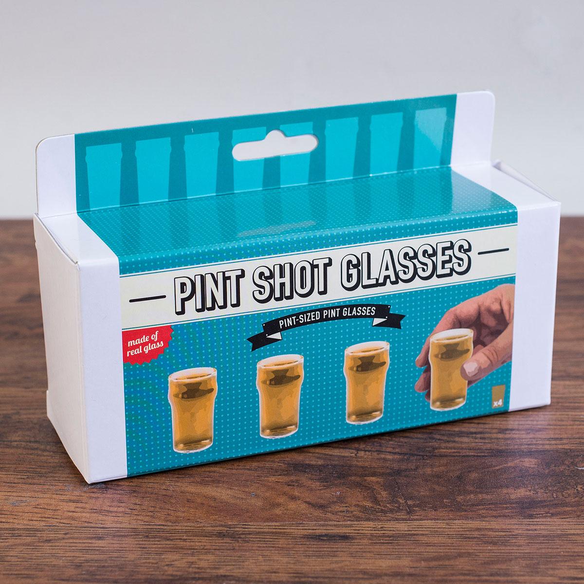 Pint Shot Glasses
