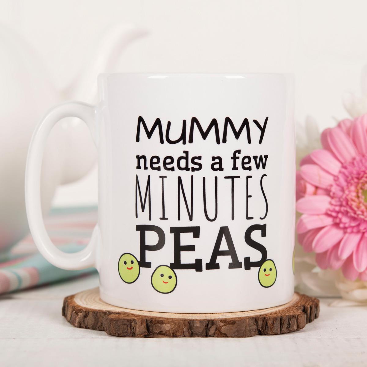 Personalised Mug - Mummy Pea