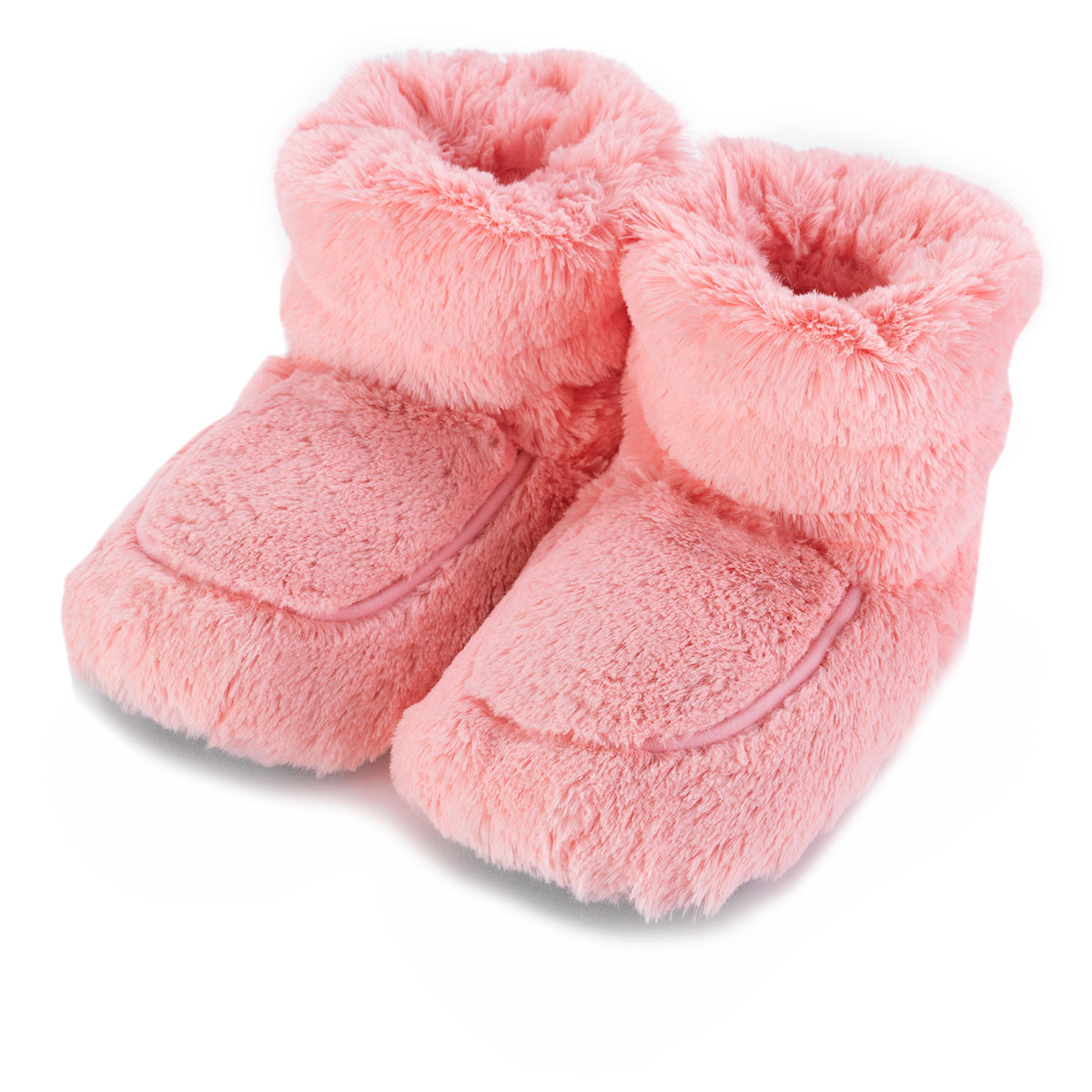 Cozy Boots™ Pink Microwavable Slipper Boots