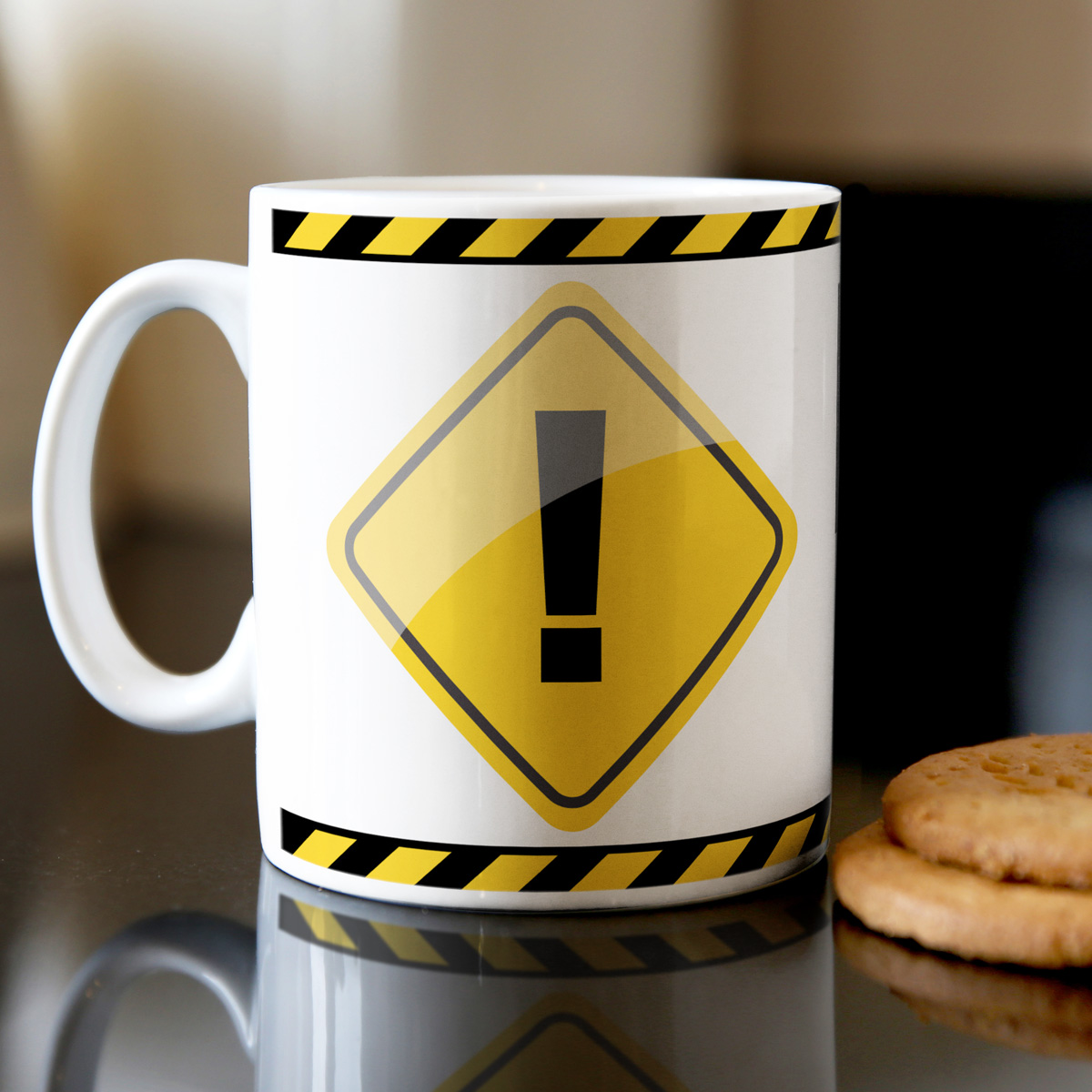 Personalised Danger Mug  Not a Morning Person