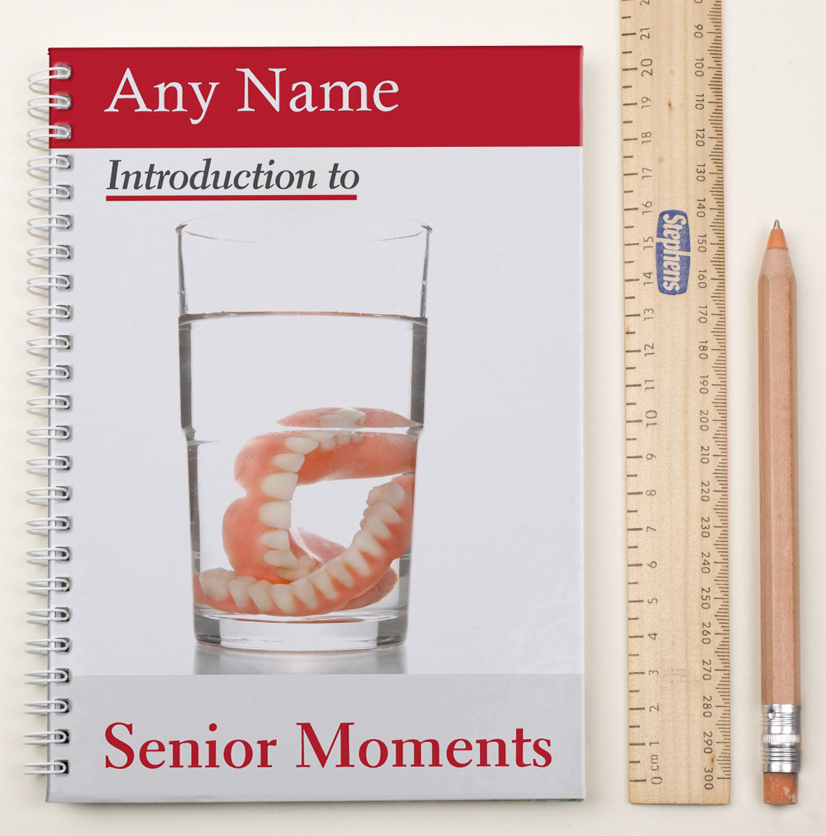 Personalised Notebook - Senior Moments