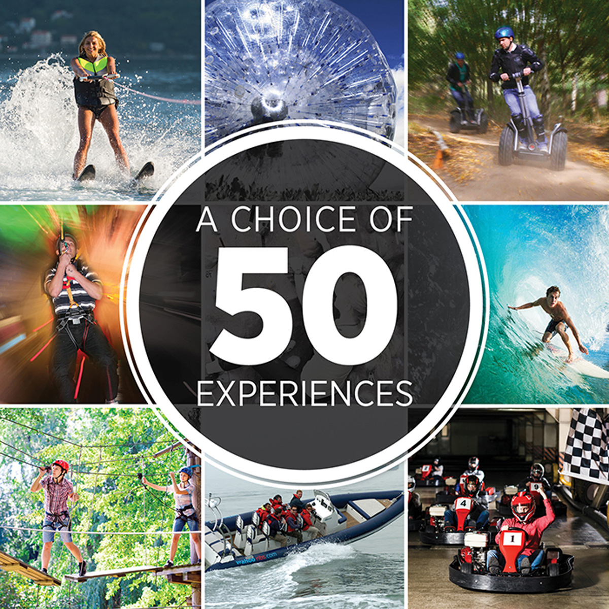 Ultimate Choice for Thrills - Experience Day Choice Pack