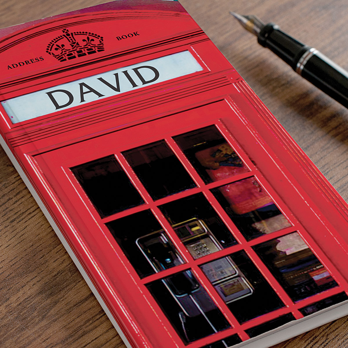 Personalised Address Book  Phone Booth