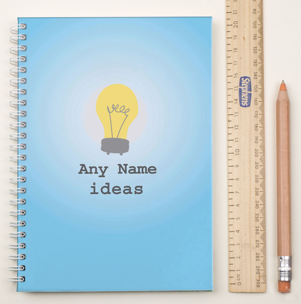 Personalised Notebook - Bright Ideas