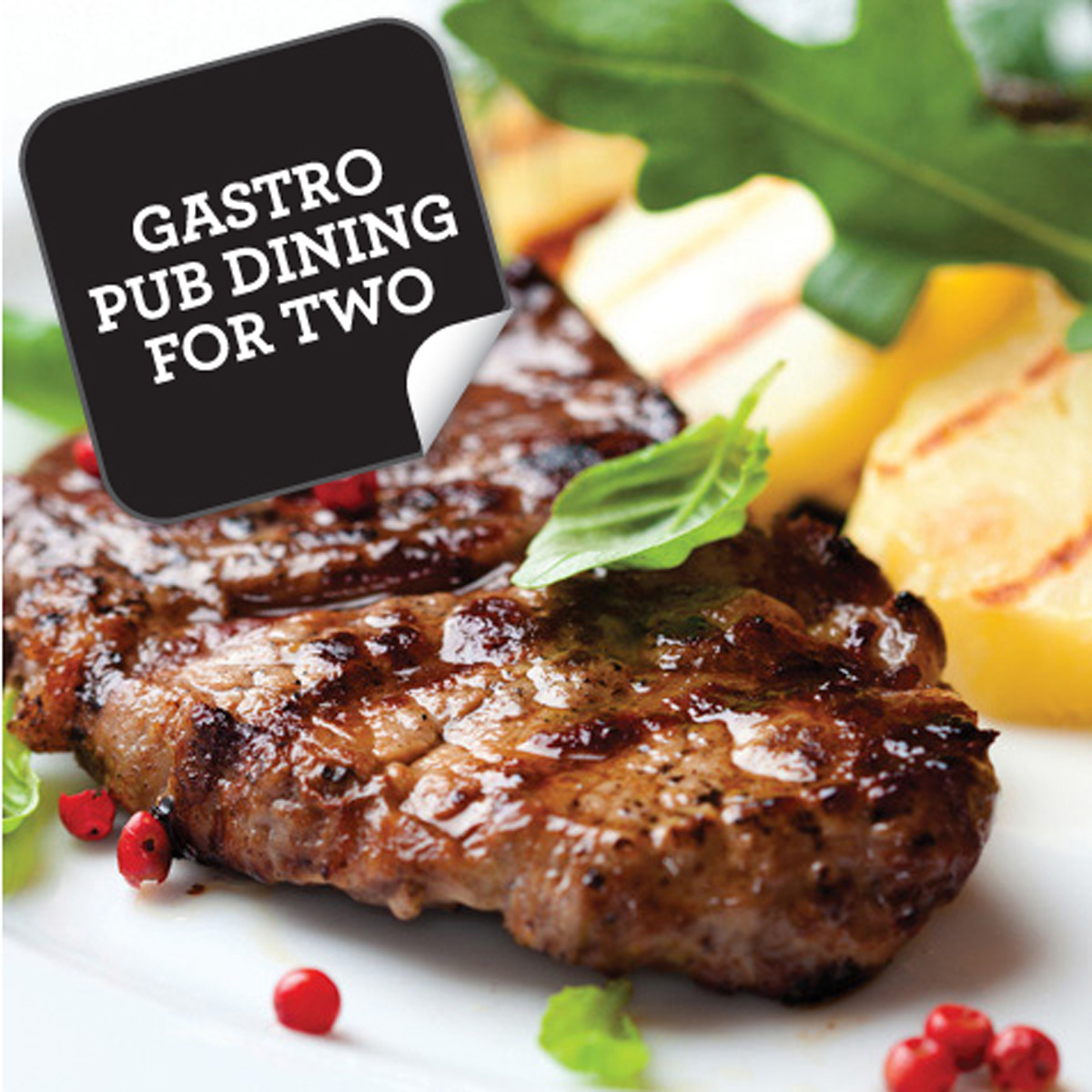 Gastro Pub Dining for Two