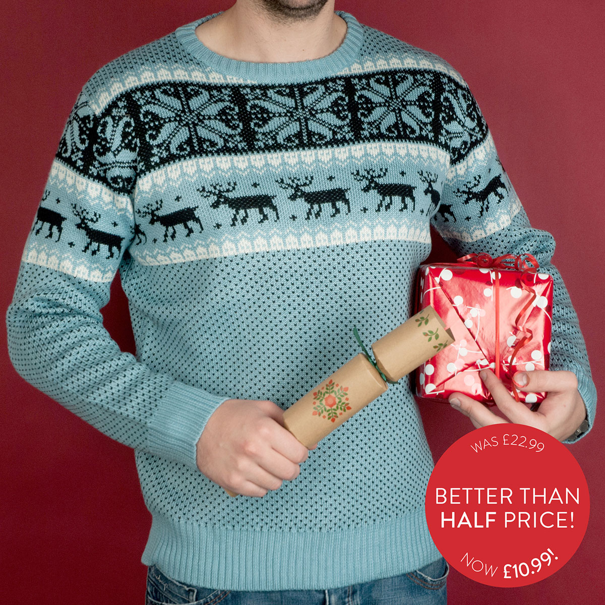 Cheeseorama Christmas Jumper