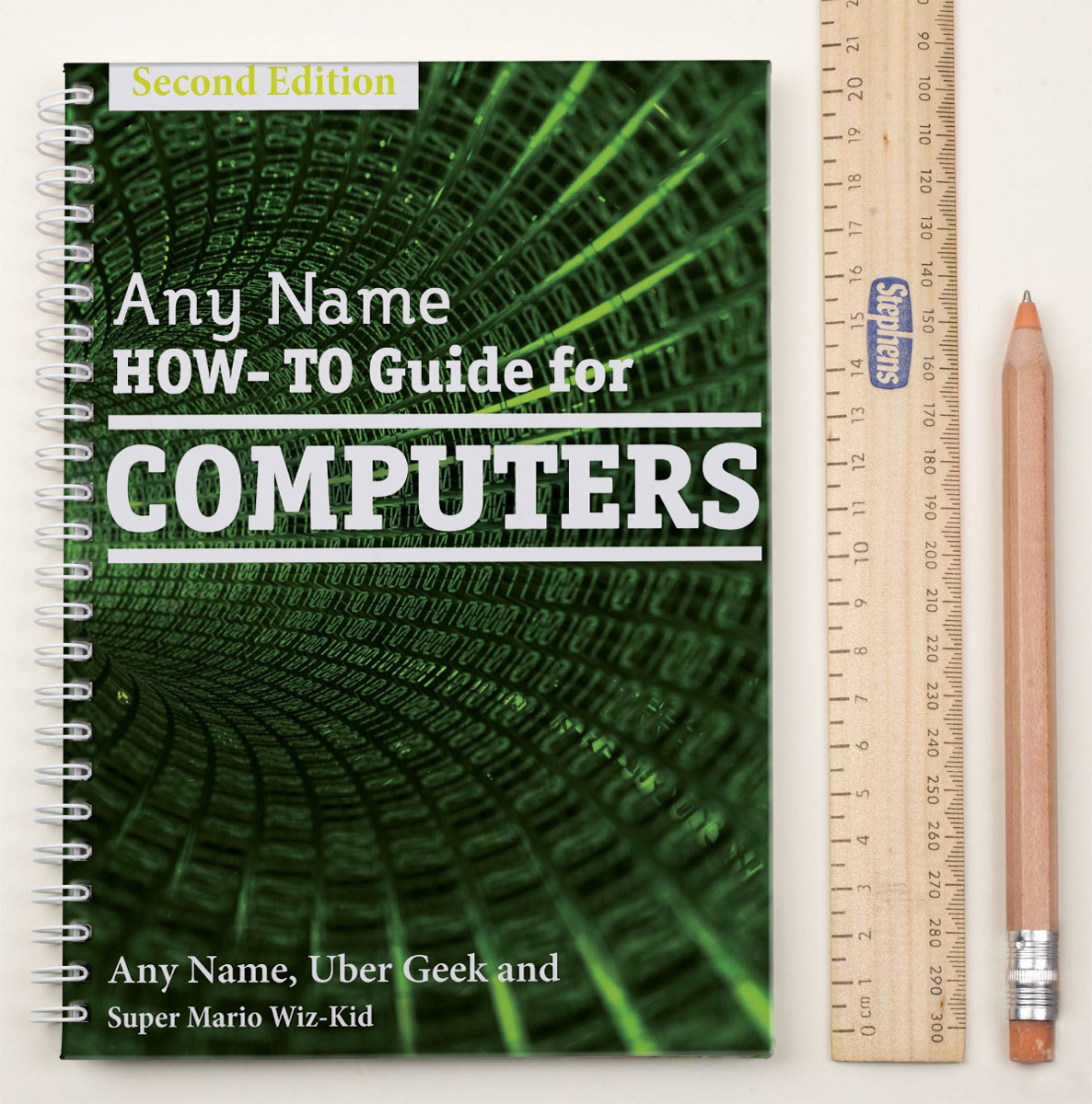 Personalised Notebook  HowTo Guide For Computers