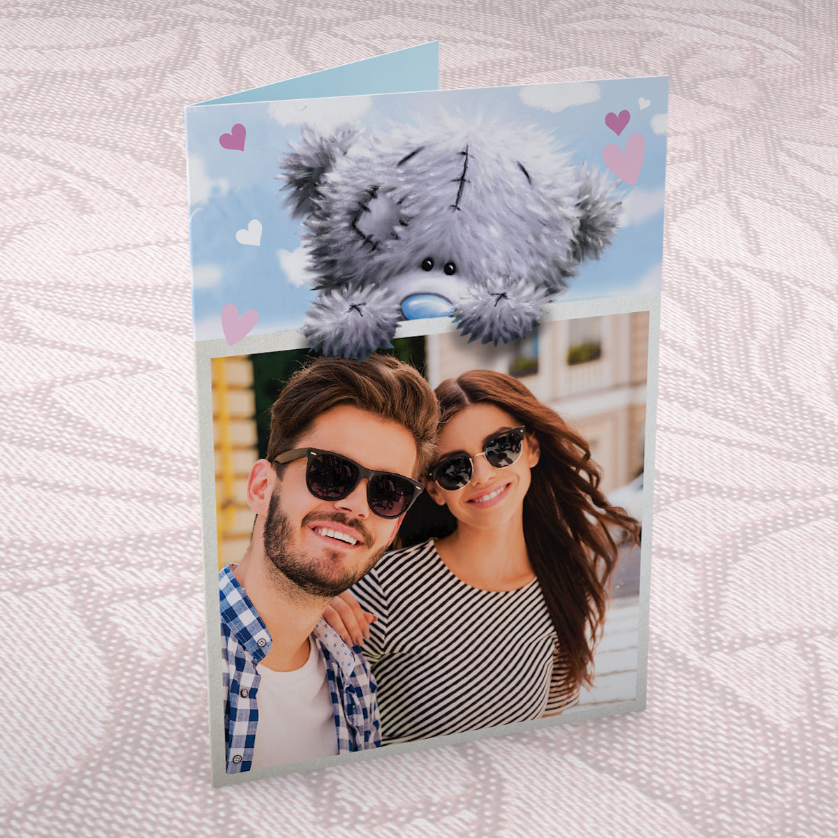 Photo Upload Me to You Card - Tatty Teddy Bear