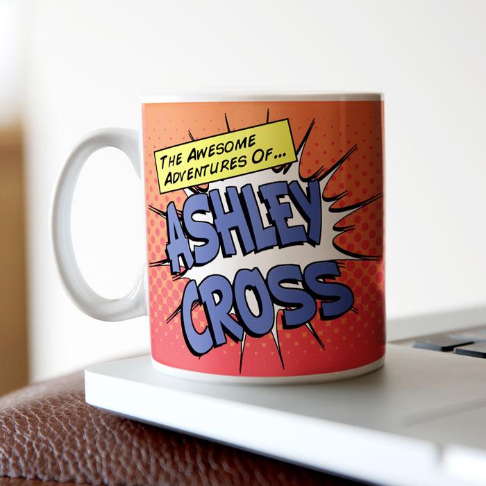 Image of Awesome Adventures Personalised Mug