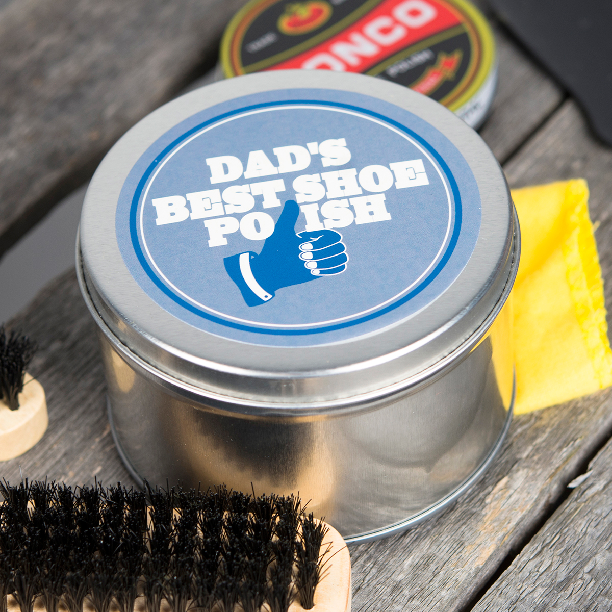 Personalised Shoe Shine Kit  Thumbs Up