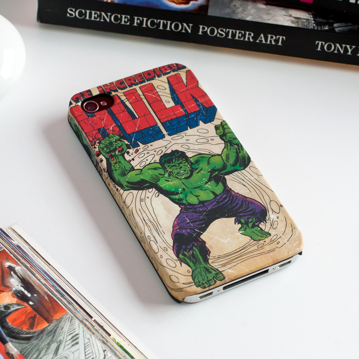 The Incredible Hulk Phone Case - iPhone 4