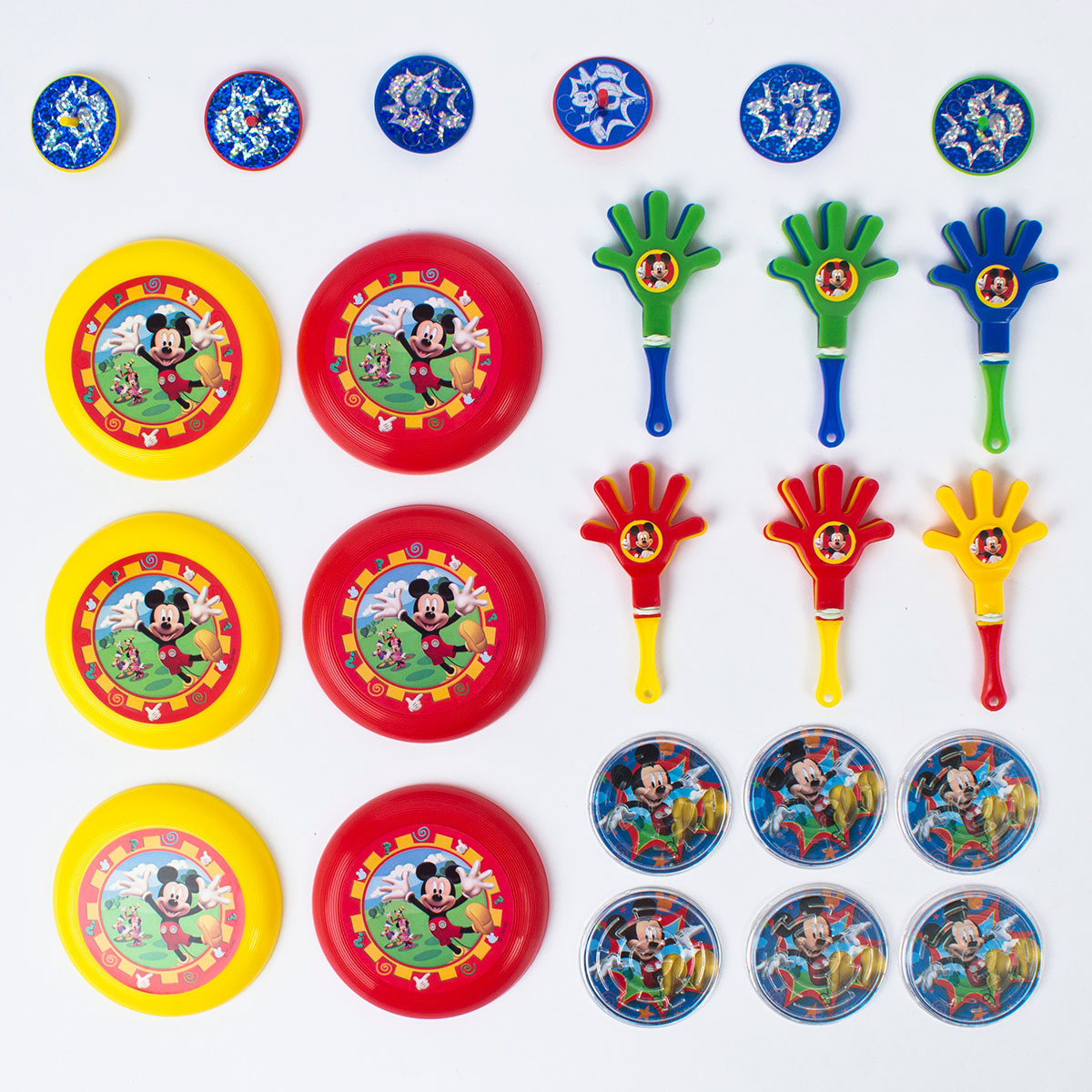 Disney Toys Party Favour Pack Mickey Mouse Clubhouse (24 Favours)