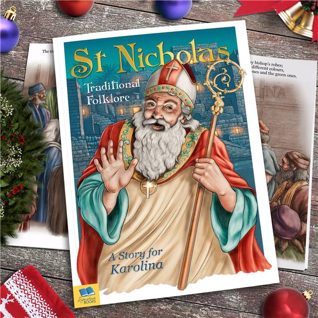 Personalised Children's Book - St Nicholas Traditional Folklore