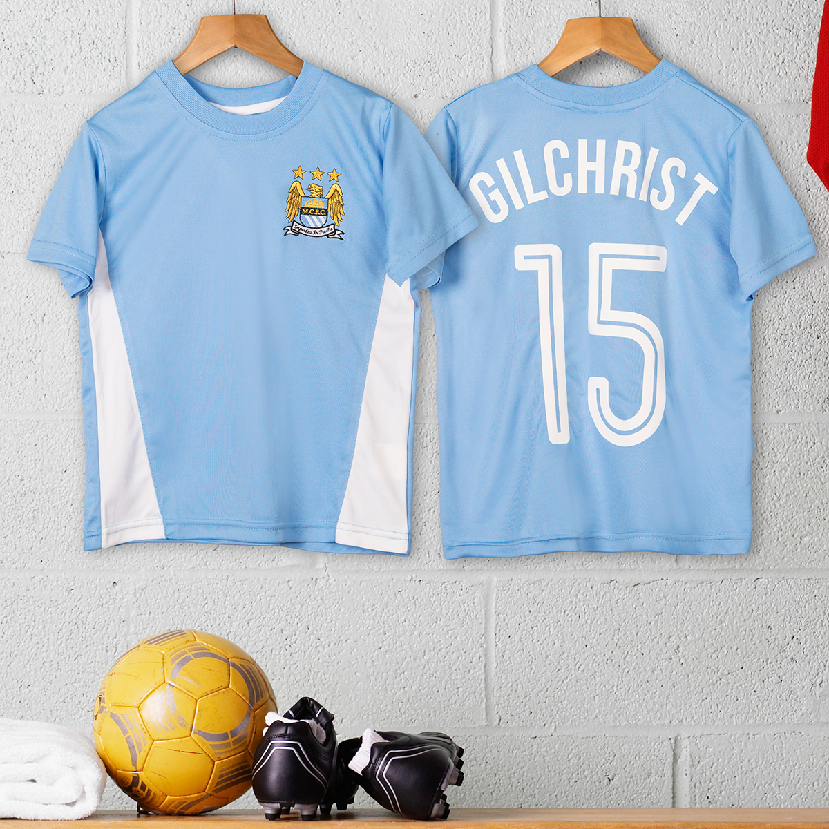 Personalised Childrens Official Football Top