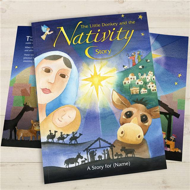 Personalised Children's Book - The Little Donkey & The Nativity Story