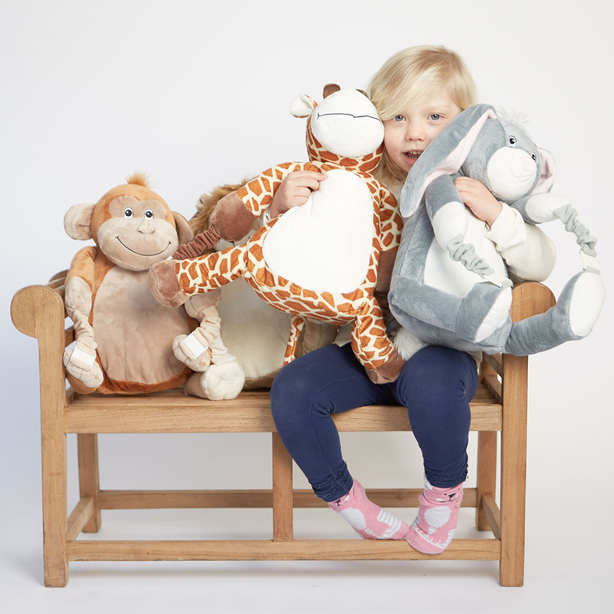Personalised BoBo Buddies Blanket Backpack