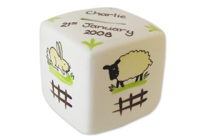 Image of 'The Farm' - Personalised Money Box
