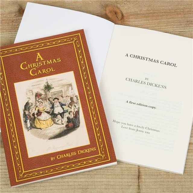 Personalised Children's Book - A Christmas Carol