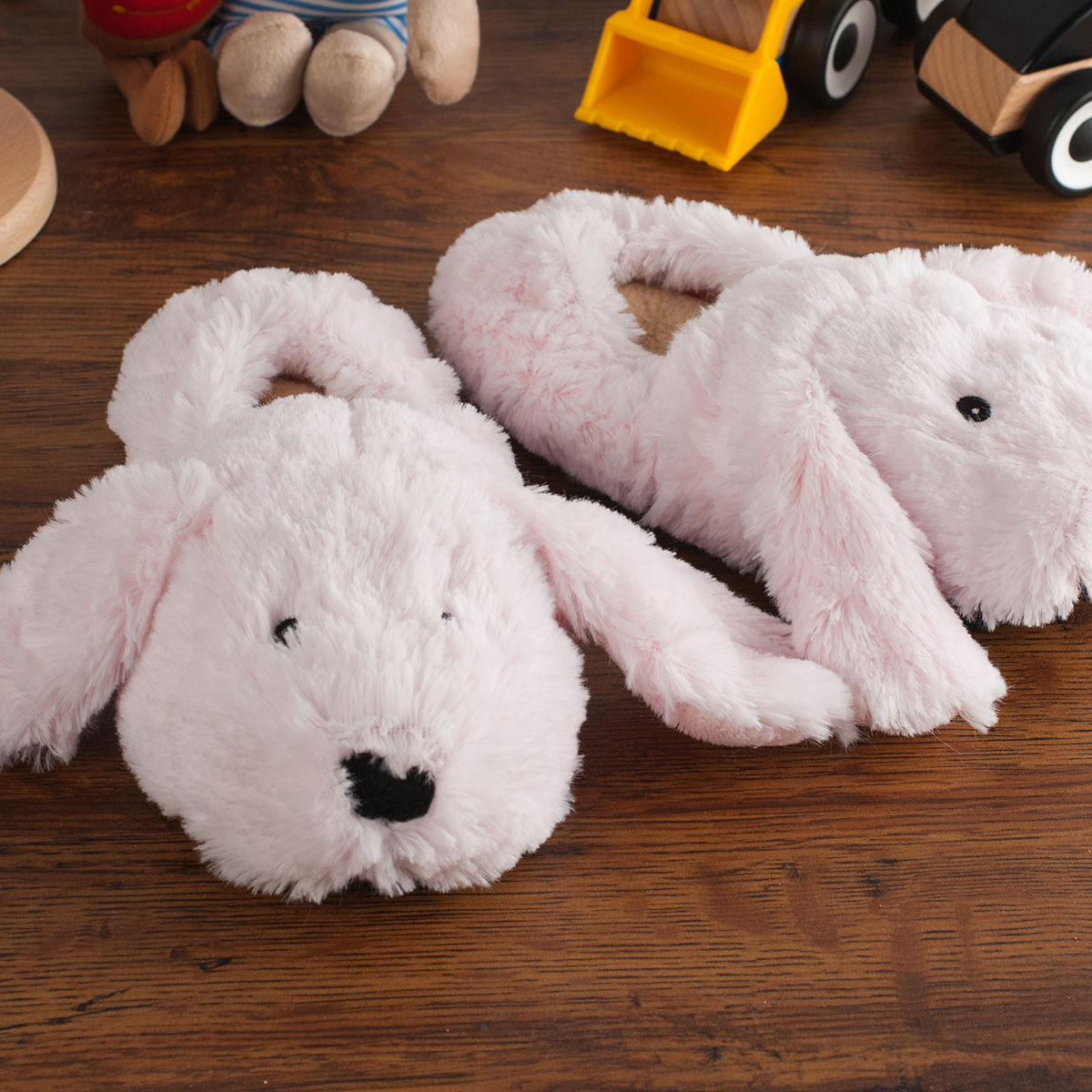 Microwavable Bunny Slippers  For Kids
