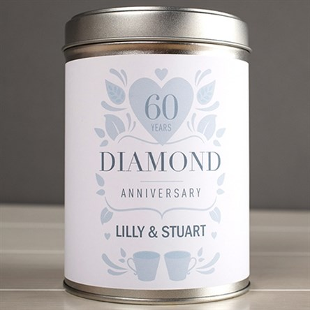 Diamond Wedding Anniversary Gift Ideas Uk : Diamond Wedding Anniversary Gifts GettingPersonal.co.uk