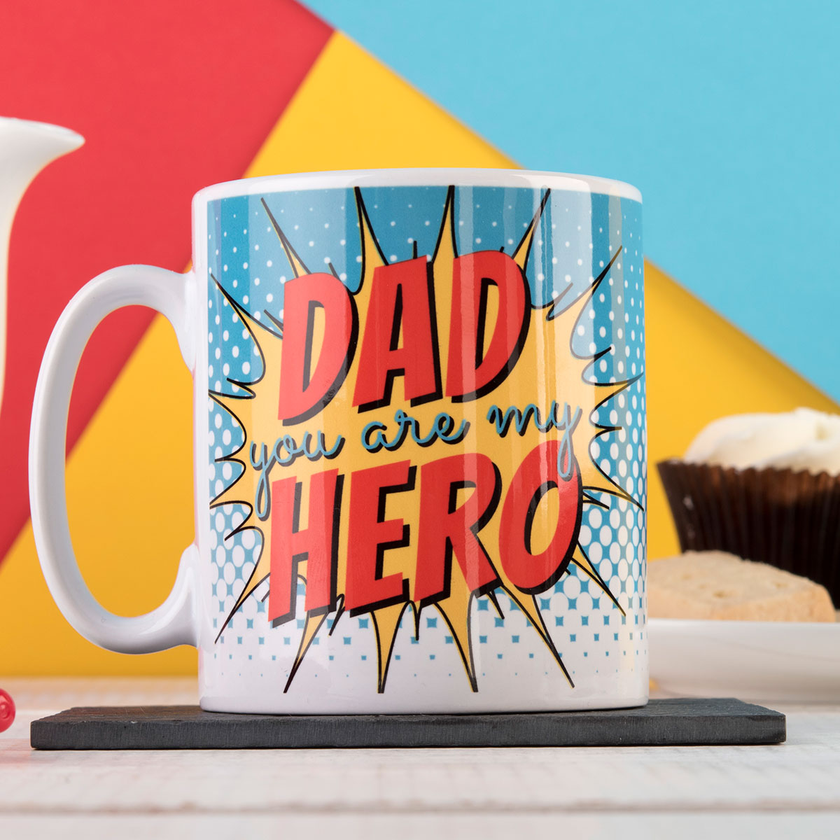 Personalised Mug - Dad, My Hero
