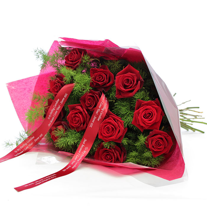 Personalised 'Love Letter' Bouquet
