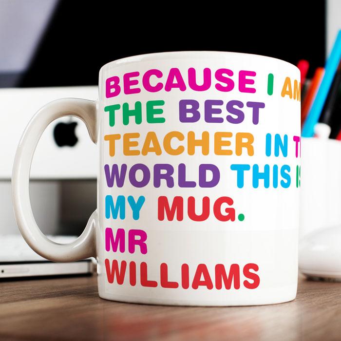 Personalised Mug - World