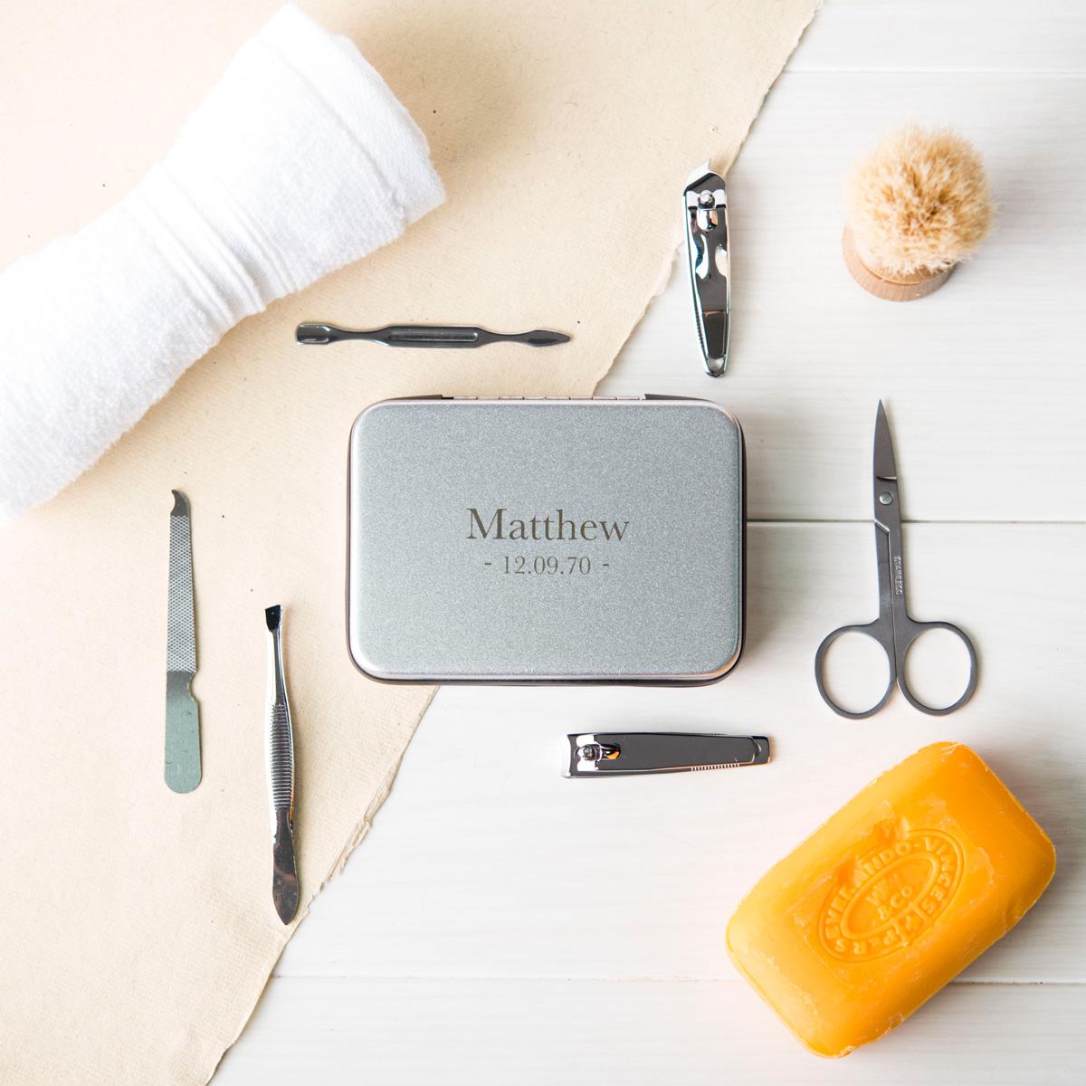 Personalised Luxury Manicure Set - Name & Date