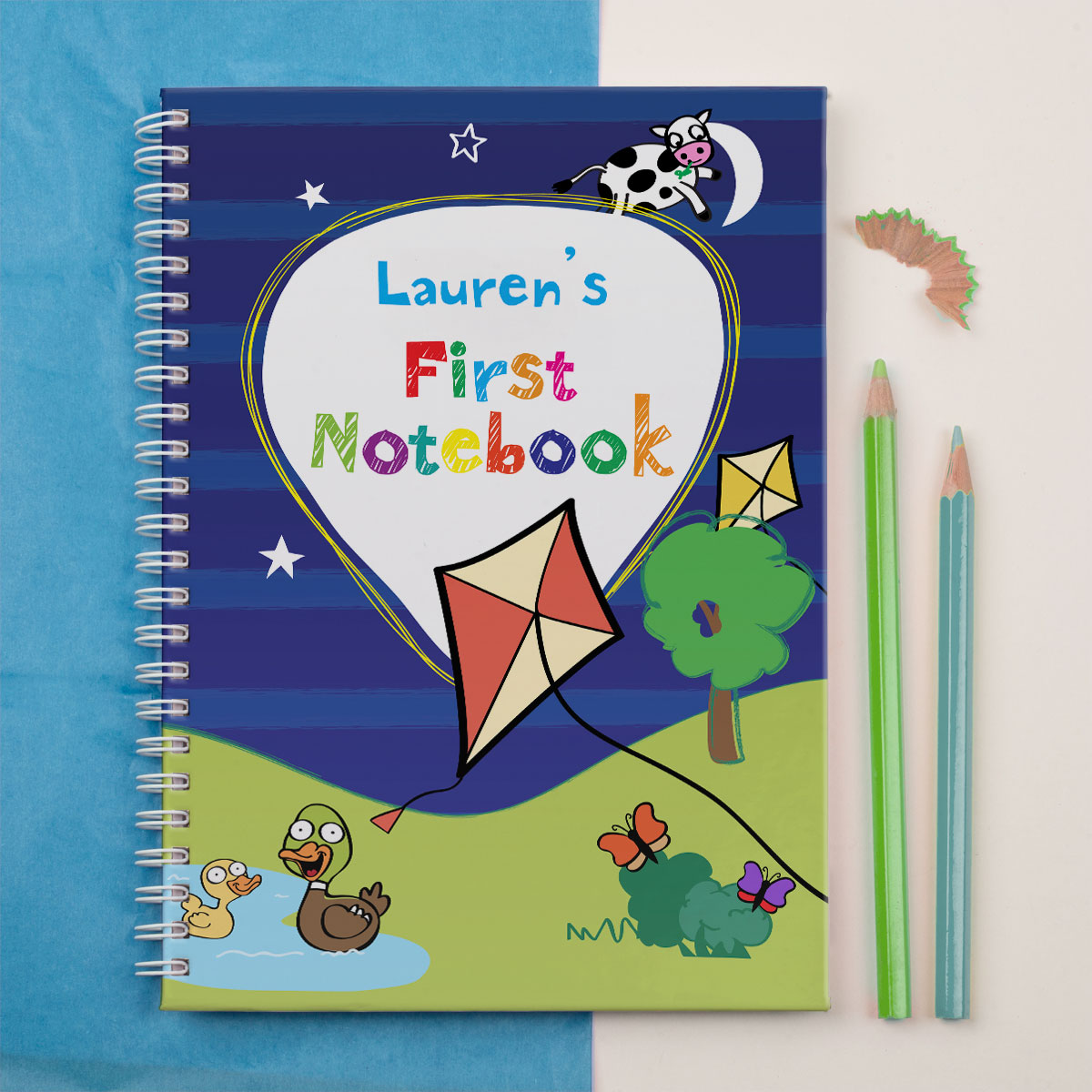 Personalised Notebook  First Notebook Park