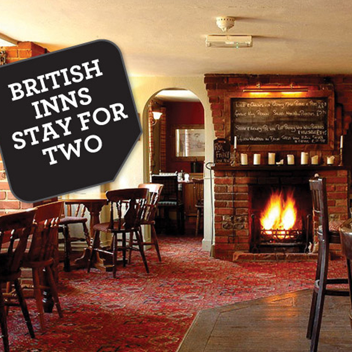 Traditional British Inns Stay for Two
