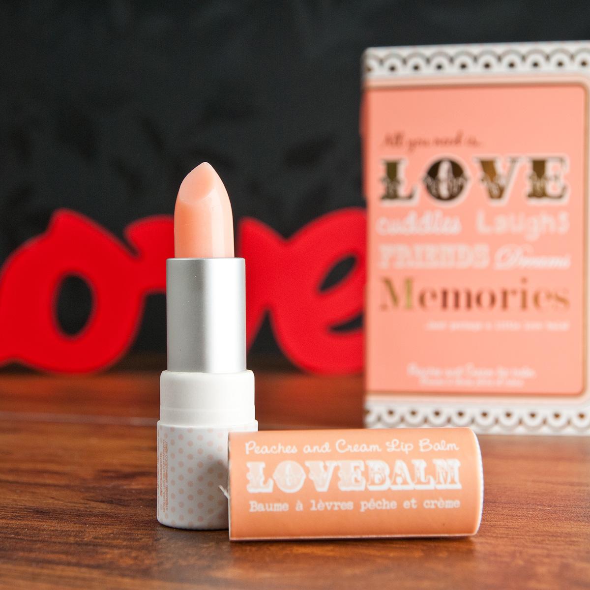 Love Lip Balm Gift Card - Peaches & Cream