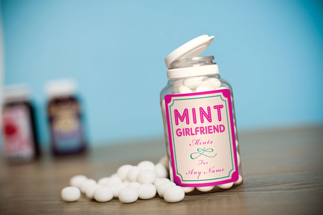 Personalised Gifts Personalised Mints - Mint Girlfriend