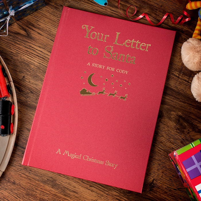 Personalised Hardback Children's Book - Your Letter To Santa