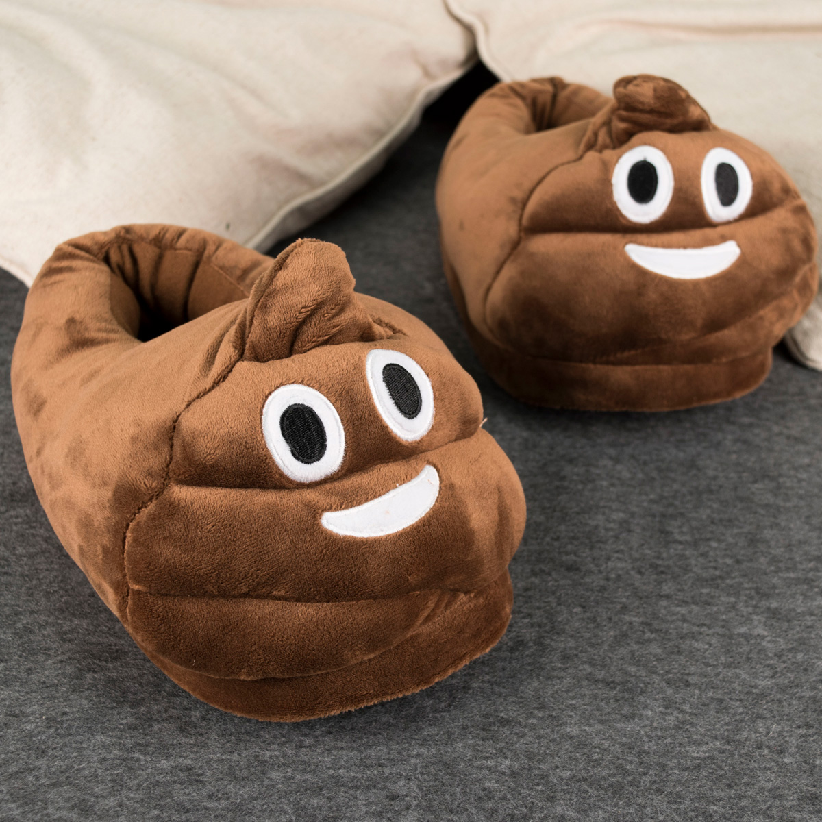 Poo Emoji Slippers