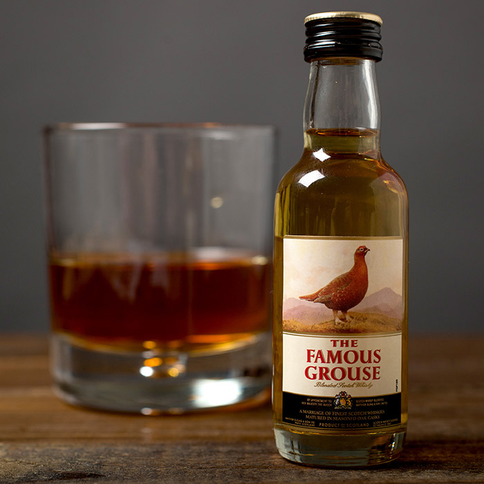 Famous Grouse Whisky Miniature