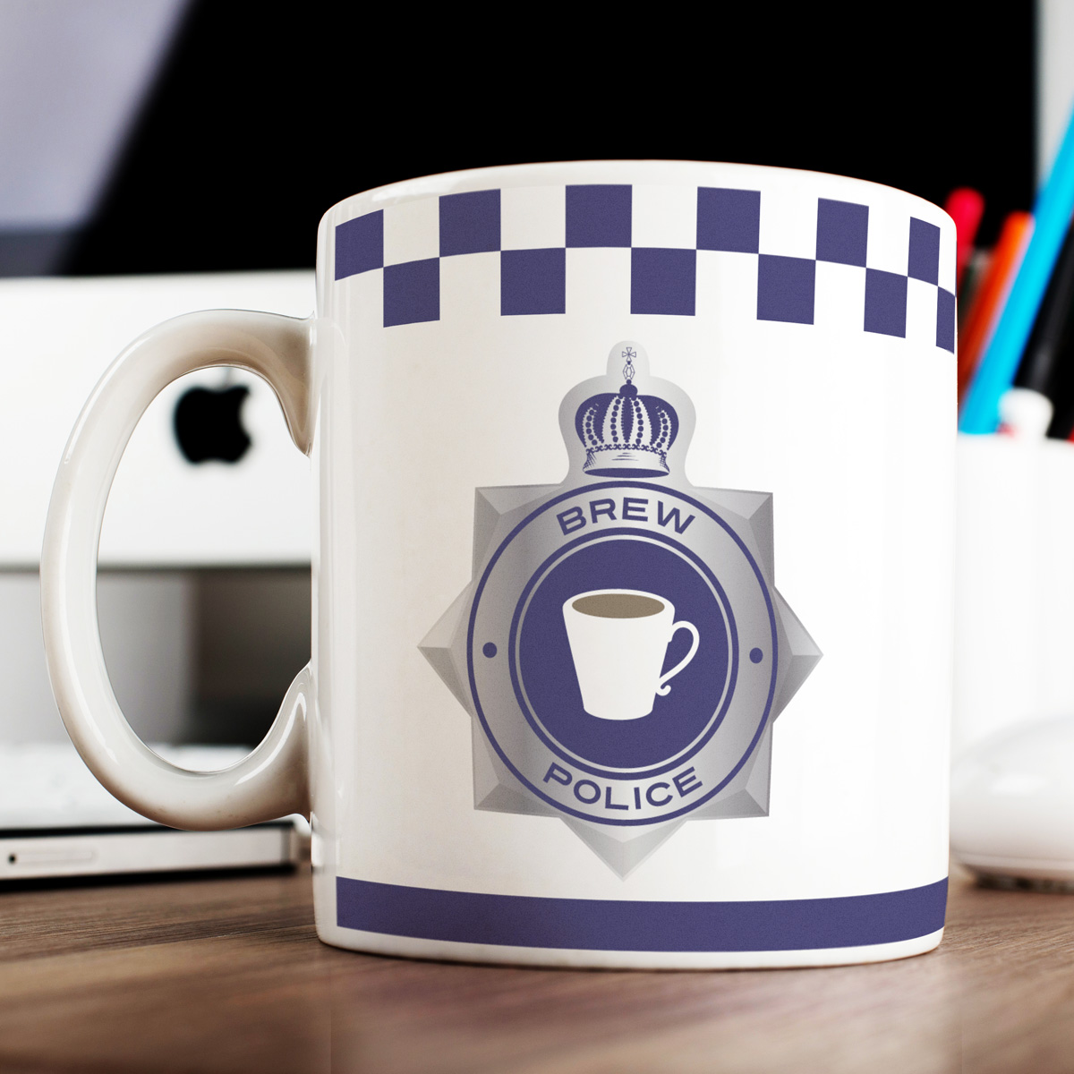 Personalised Mug - Fighting Crime One Brew At A Time