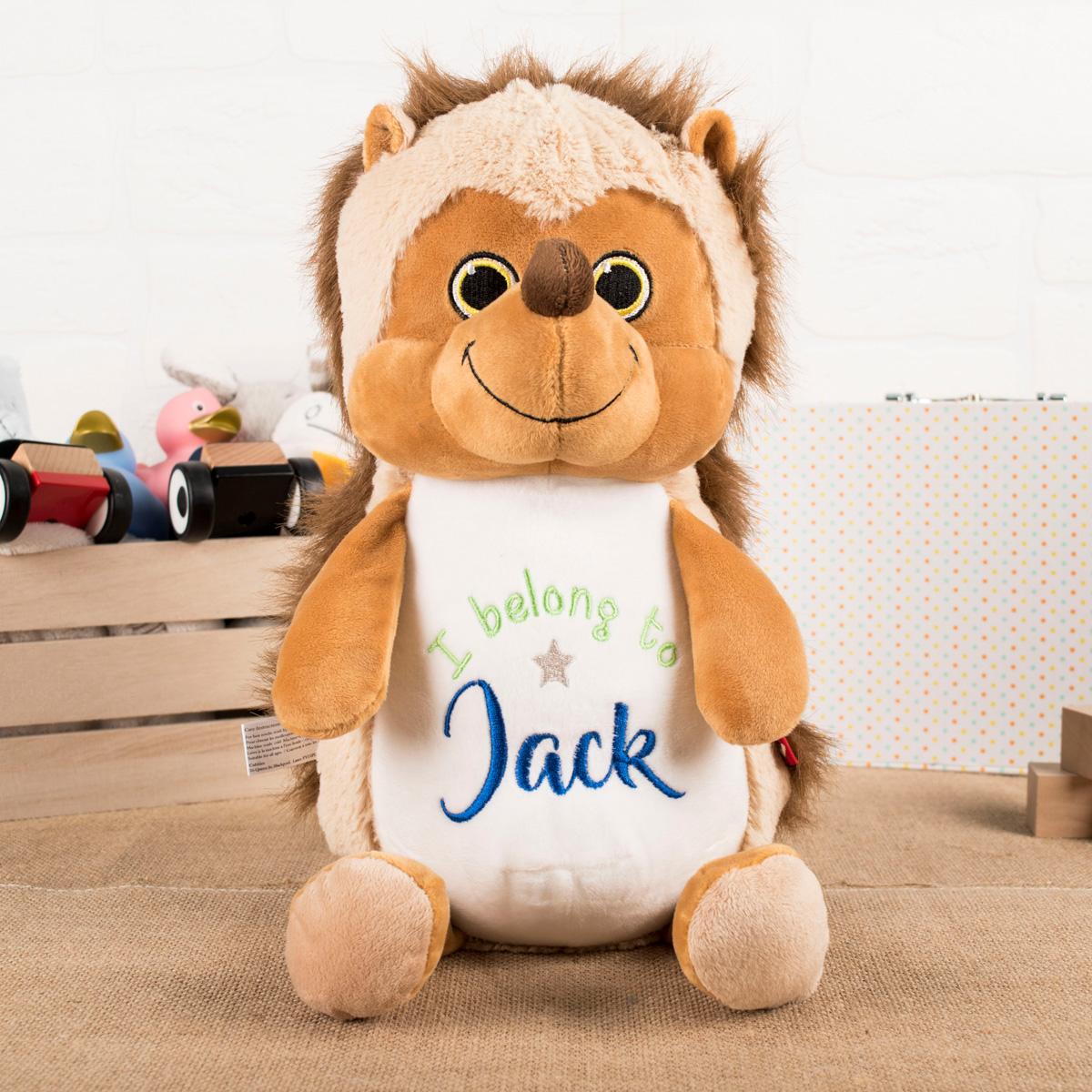 Personalised Hedgehog Soft Toy