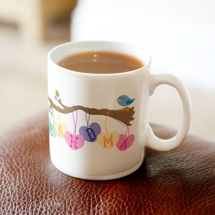 Personalised Mug - Little Birdie For Grandma
